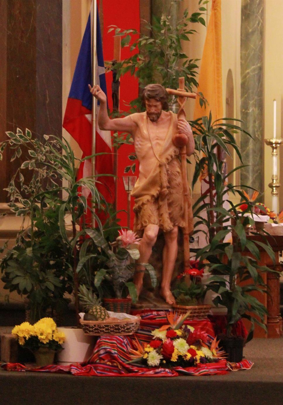 Celebration of St. John the Baptist Patron of Puerto Rico