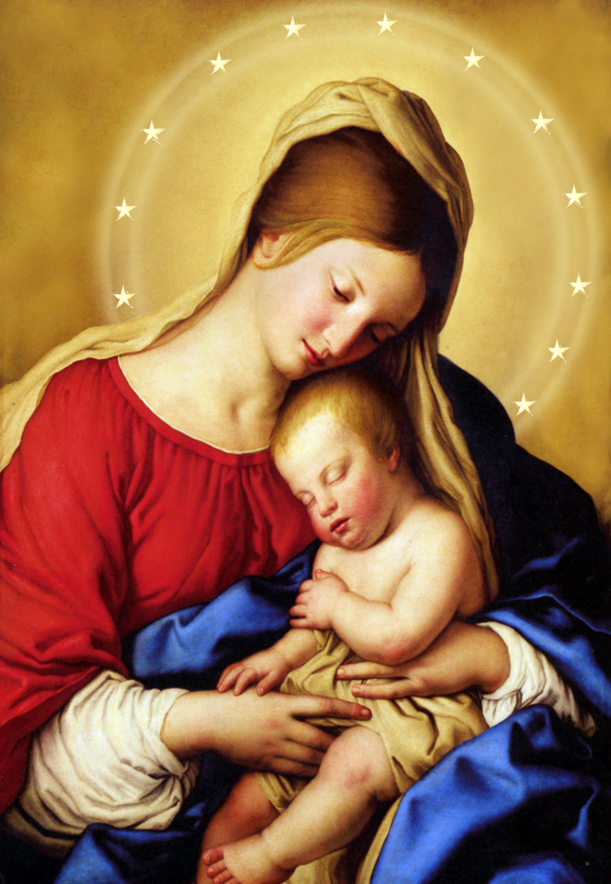 Monday, December 31 - Solemnity of Mary, The Holy Mother of God